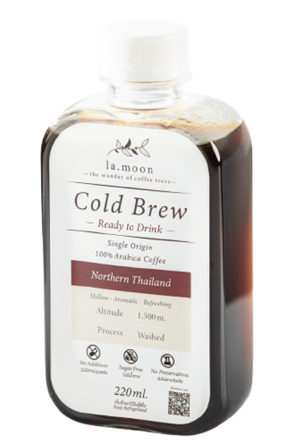Lamoon Coffee Tree กาแฟดำดอยช้างสกัดเย็นแบบพร้อมดื่ม 1
