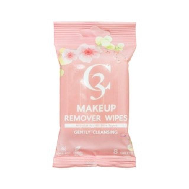 แผ่นเช็ดเครื่องสำอาง C3 แผ่นเช็ดเครื่องสำอาง Makeup Remover Wipes  1