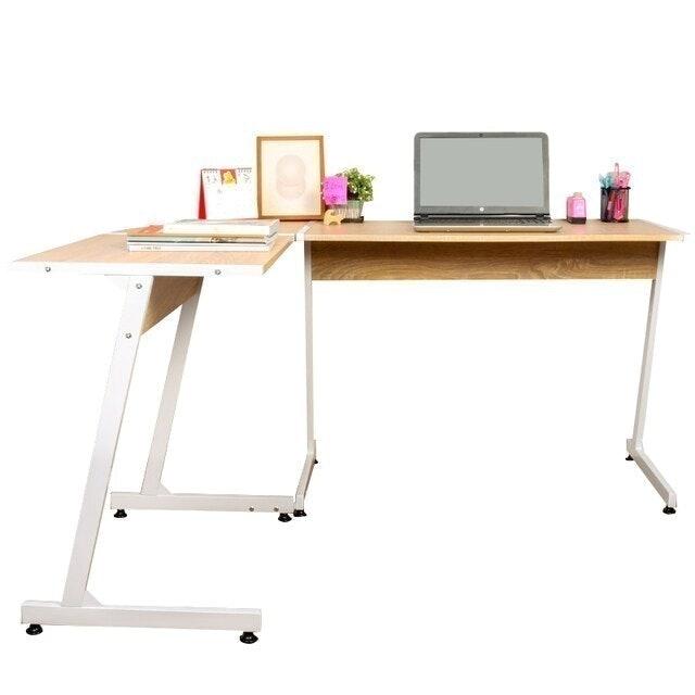 Ctrend โต๊ะคอมพิวเตอร์ รูปตัว L เข้ามุม 1