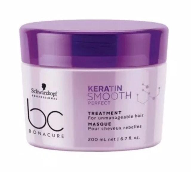 Schwarzkopf ครีมหมักผมเคราติน BC Bonacure Keratin Smooth Perfect Treatment 1