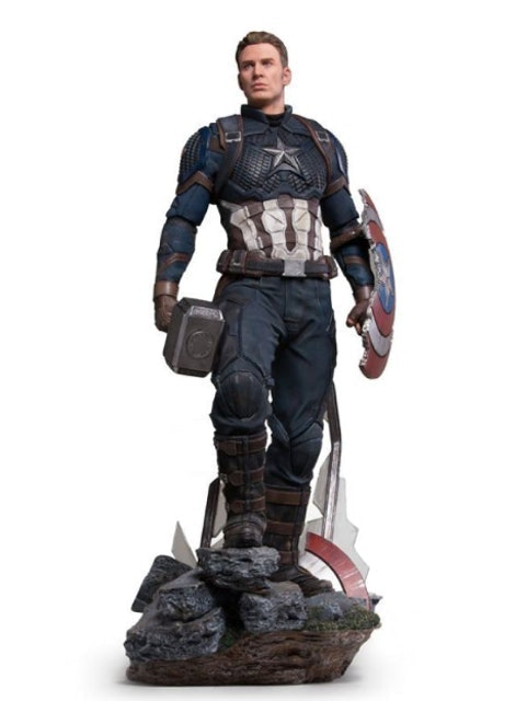 Iron Studios Captain America Scale 1/4  1