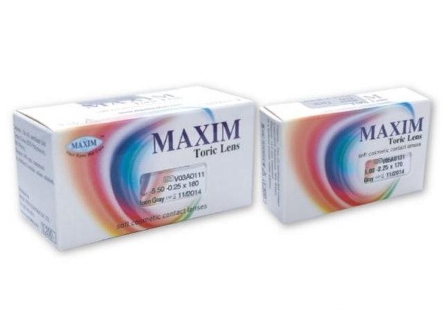 MAXIM Toric Lens คอนแทคเลนส์สี 1