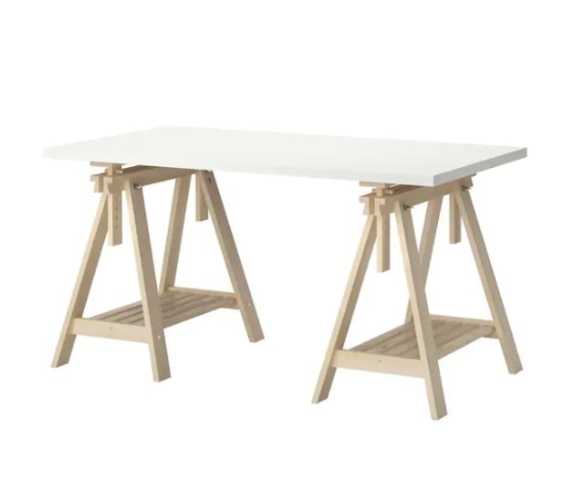 IKEA โต๊ะทำงาน รุ่น LINNMON / FINNVARD 1