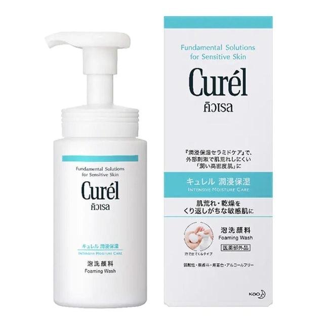 Curel Intensive Moisture Care Foaming Wash 1