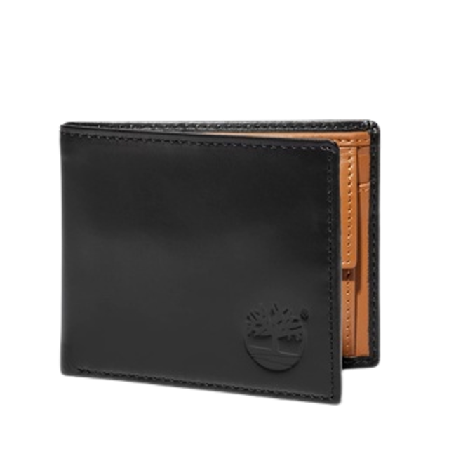 Timberland กระเป๋าสตางค์ผู้ชาย มีช่องใส่เหรียญ MEN'S ALTON RIDGE TWO-COLOR WALLET WITH COIN POCKET 1