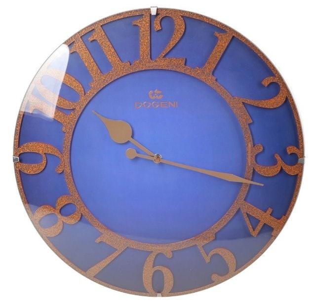 DOGENI  นาฬิกาแขวน รุ่น WNW022BU สีน้ำเงิน 1