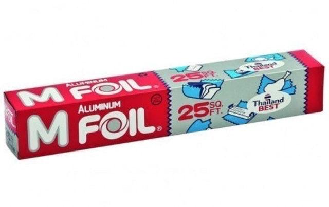 M Foil อะลูมิเนียมฟอยล์ห่ออาหาร 1