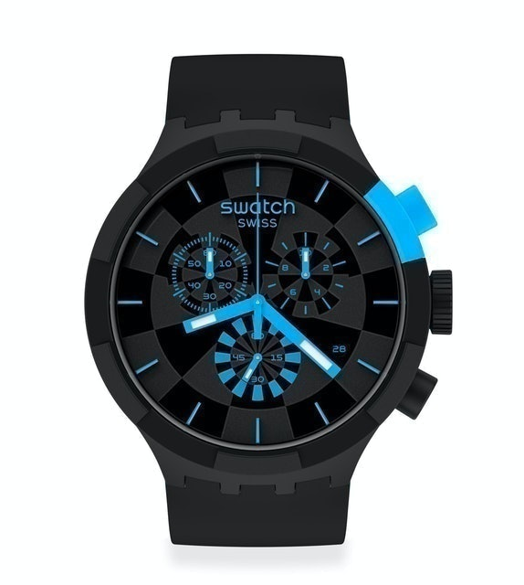 Swatch CHECKPOINT BLUE 1