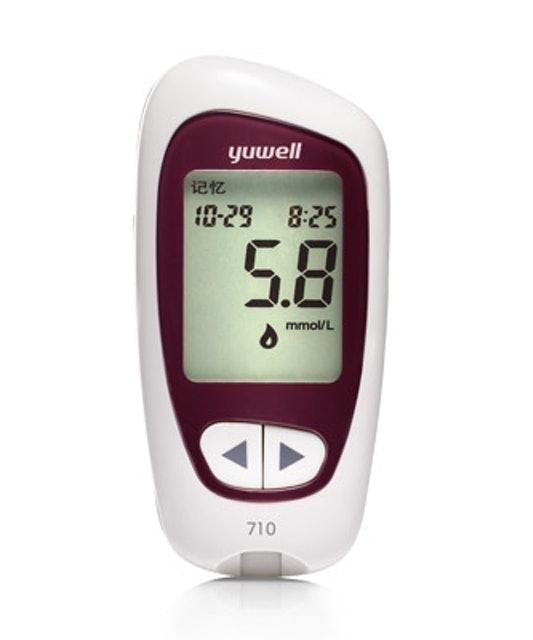 Yuwell เครื่องตรวจวัดน้ำตาลในเลือด รุ่น Accusure 710 1