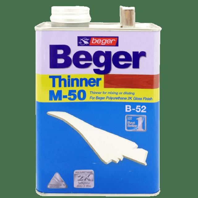 BEGER ทินเนอร์ เอ็ม-50 1
