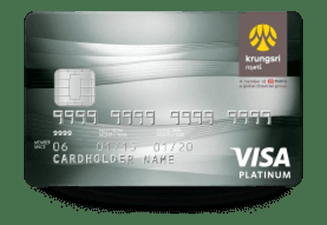 Krungsri Krungsri Visa Platinum Credit Card 1
