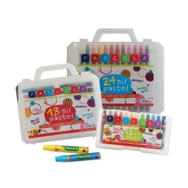 i-Paint สีชอล์กพาสโคล่า สีสำหรับเด็ก รุ่น IP-OP 1
