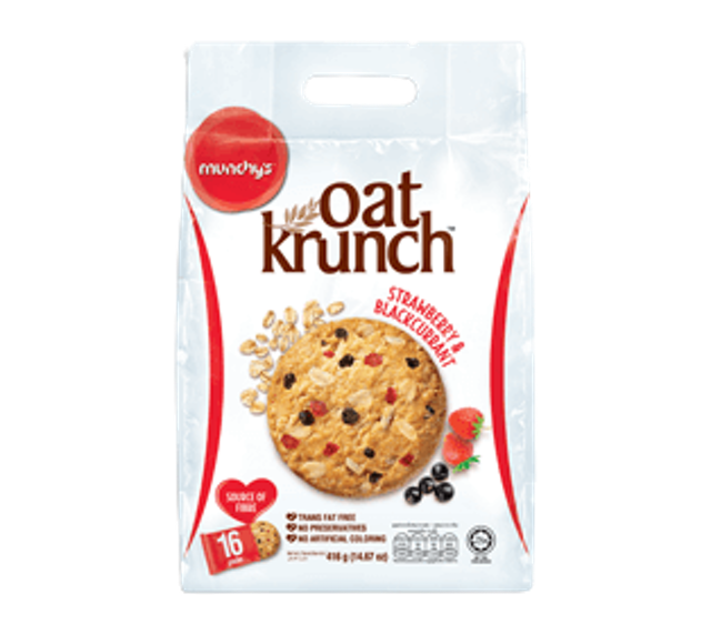 MUNCHY'S คุกกี้ธัญพืชข้าวโอ๊ต Oat Krunch 1