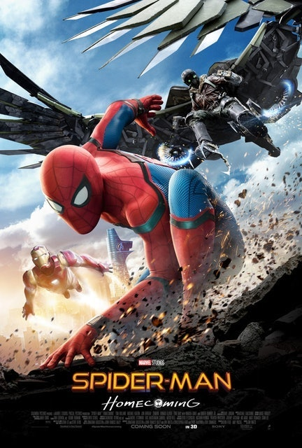 Sony Pictures Releasing Spider-Man: Homecoming 1