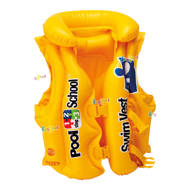Intex  เสื้อชูชีพพองลม สำหรับเล่นกีฬาทางน้ำ 1