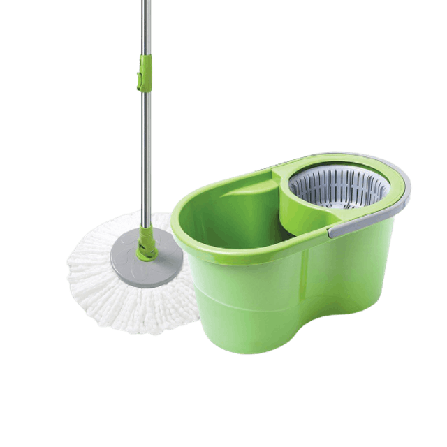 3M Eco Spin Bucket with Microfiber Mop 1