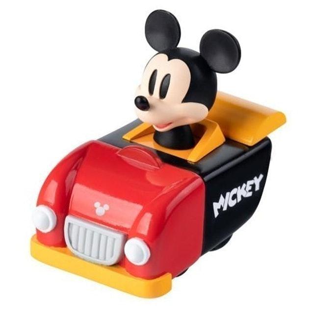 Beast Kingdom รถของเล่น รุ่น Classic Mickey Mouse Pull Back Car 1