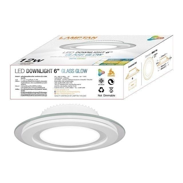 LAMPTAN LED Downlight Glass Glow 1