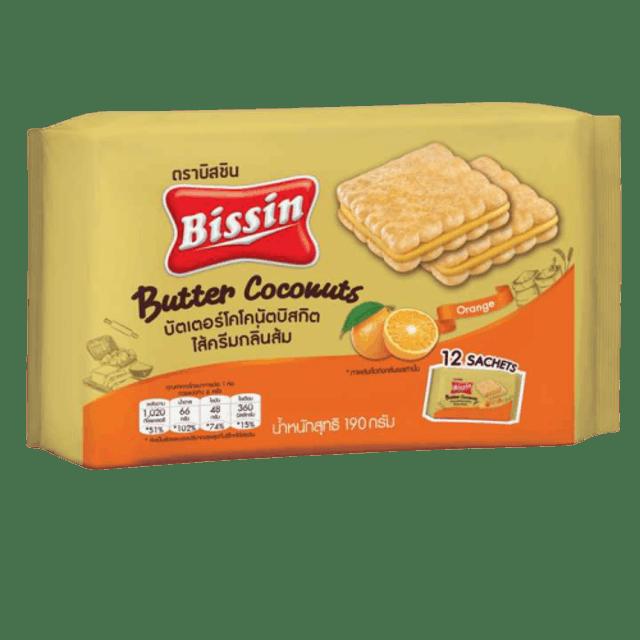 Bissin บัตเตอร์ โคโคนัท บิสกิต 1