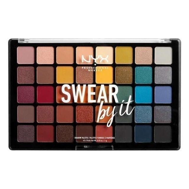 NYX Professional Makeup  Swear By It Shadow Palette  1