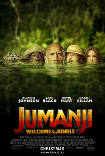 Sony Pictures Releasing Jumanji: Welcome to the Jungle 1