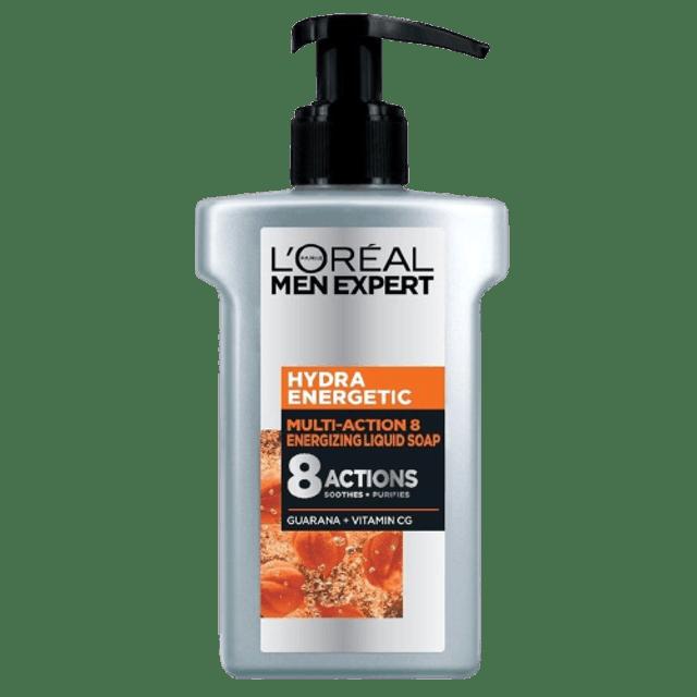L'ORÉAL Men Expert โฟมล้างหน้าผู้ชาย Hydra Energetic Multi Action 8 Serum Foam  1
