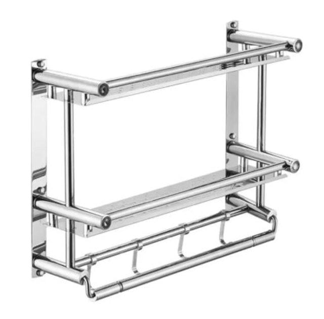 HAKONE Stainless Steel Bathroom Rack 1