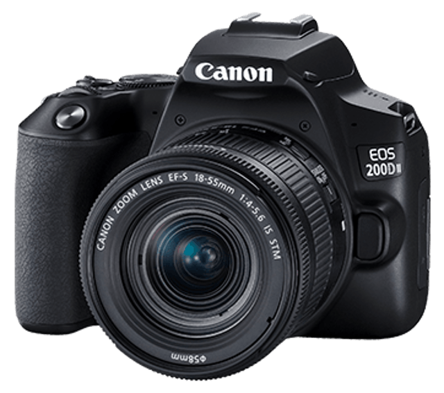 Canon EOS 200D Mark II Kit ((EF-S 18-55mm f/4-5.6 IS STM)) 1