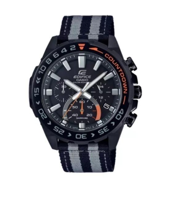 Casio นาฬิกาข้อมือผู้ชาย EDIFICE รุ่น EFS-S550BL-1AVUDF 1