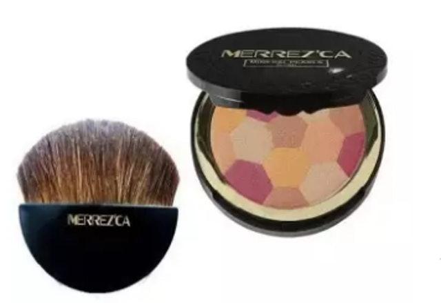 MERREZ'CA Mineral Pearls Blush 1