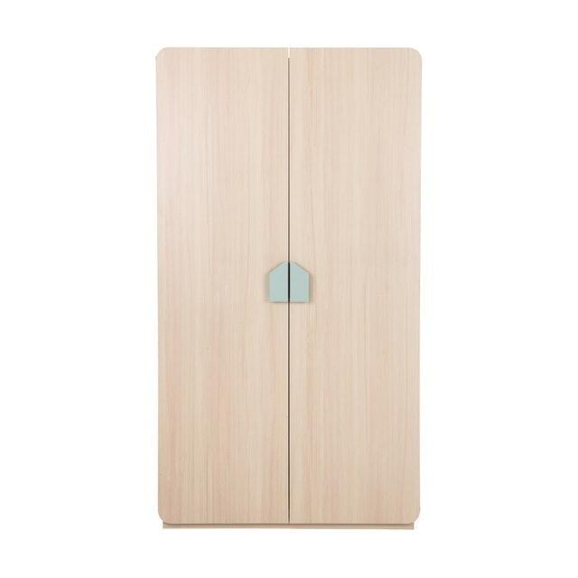 Index Furniture ตู้เสื้อผ้าไม้ 2 บาน รุ่น MAISON 1