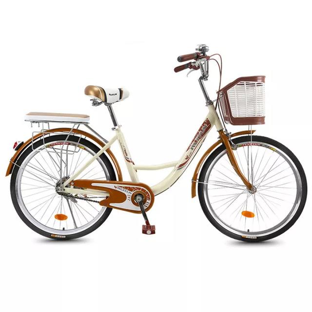 JIESUQI  จักรยานแม่บ้าน รุ่น 24 นิ้ว 1
