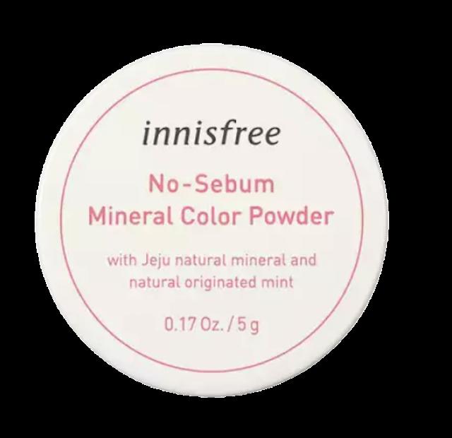 Innisfree No sebum mineral color powder 1