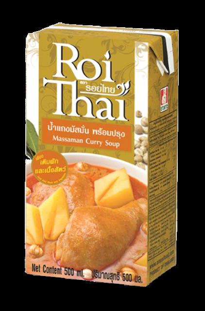 รอยไทย  น้ำแกงมัสมั่นพร้อมปรุง 1