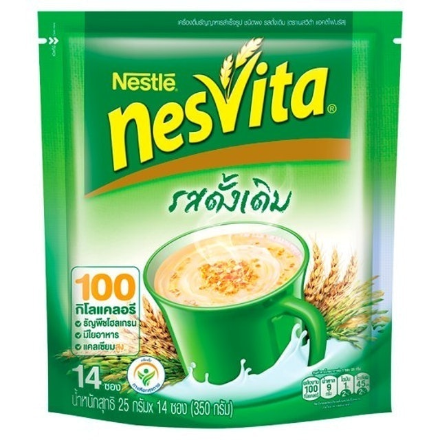 NESVITA เครื่องดื่มธัญญาหารสำเร็จรูป รสดั้งเดิม 1
