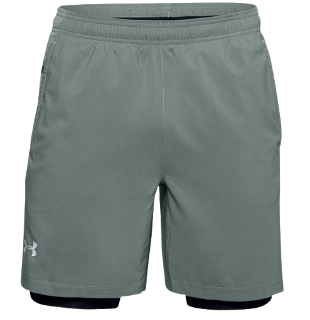 Under Armour กางเกงโยคะ Men's Launch SW 2-in-1 Shorts  1