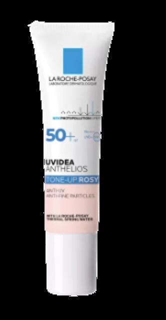 LA ROCHE-POSAY Uvidea Anthelios Tone-Up Rosy SPF50+ PA++++ เมคอัพเบส ถูกและดี 1