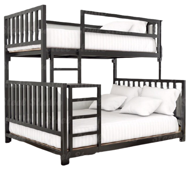 Furnitmall เตียงสองชั้น เตียงไฮบริด 2ชั้น 1