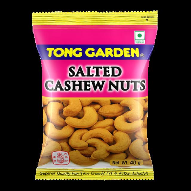 TONG GARDEN อาหารแห้งในเซเว่น มะม่วงหิมพานต์อบเกลือ 1