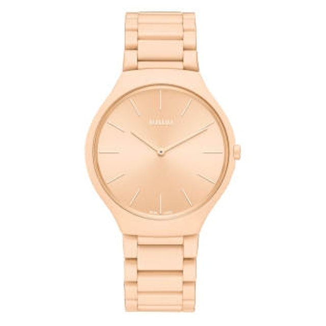RADO นาฬิกาข้อมือ รุ่น  TRUE THINLINE LES COULEURS™ LE CORBUSIER PALE SIENNA 32123 1