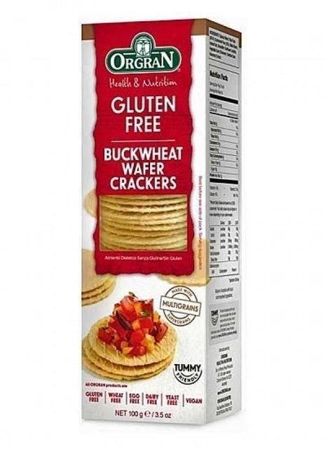 ORGRAN Buckwheat Wafer Crackers 1