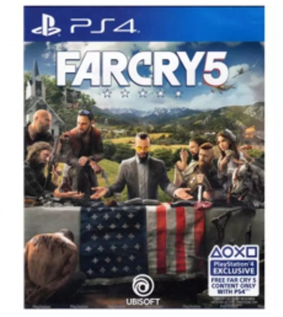 PS4 Far Cry 5 1
