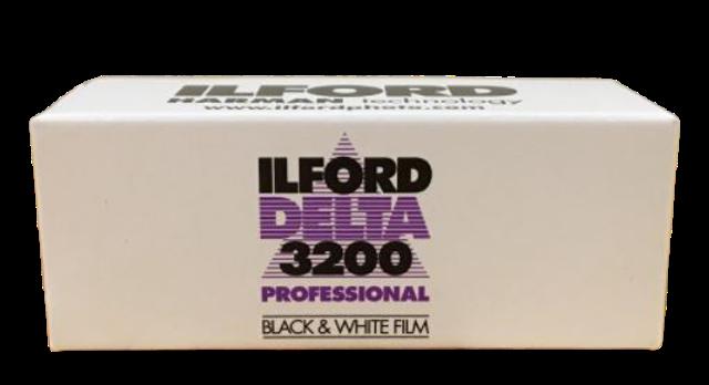 Ilford ฟิล์มขาวดำ Ilford Delta 3200 Professional 1