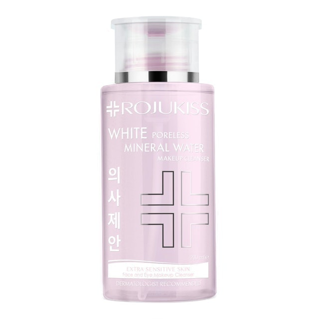 ROJUKISS White Poreless Mineral-Water Make Up Cleanser 1