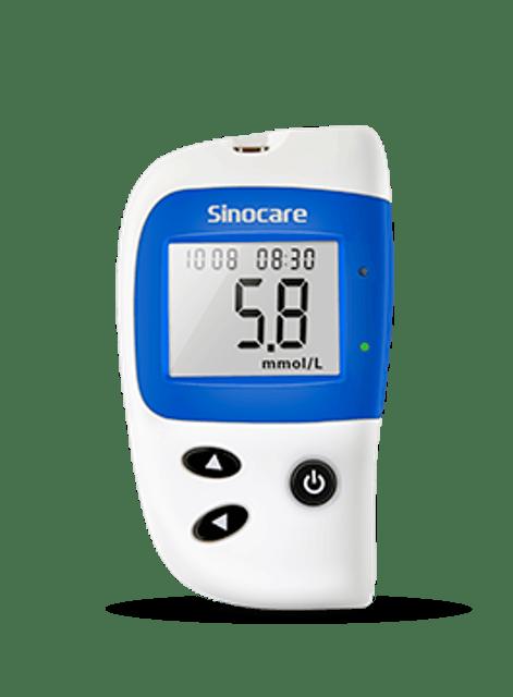 Sinocare เครื่องตรวจวัดน้ำตาล รุ่น Safe-Accu2 1