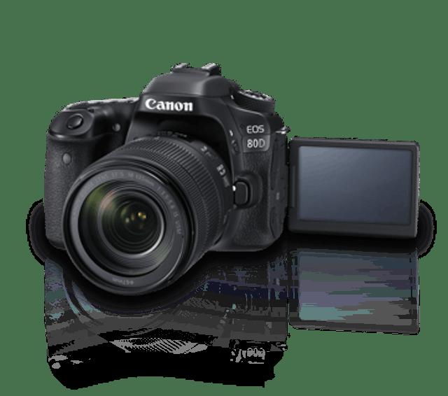 Canon EOS 80D Kit II (EF-S18-135 IS USM) 1