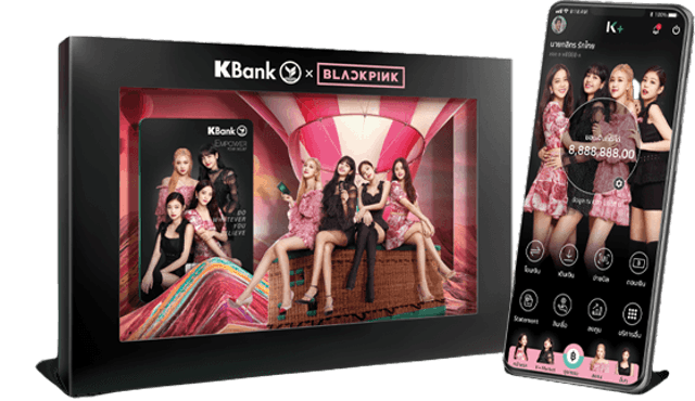 KBank KBank x BLACKPINK 1