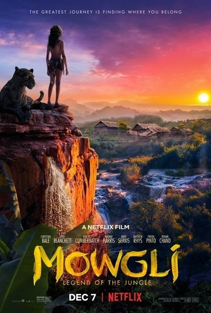 Netflix Mowgli: Legend of the Jungle 1