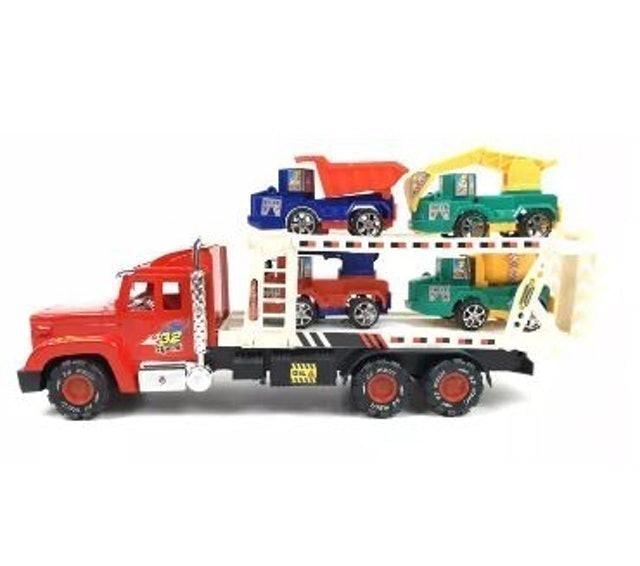 THE TOY รถของเล่นเด็ก ชุด เซตรถบรรทุกก่อสร้าง 1