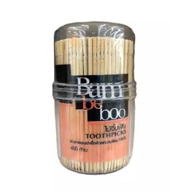 Bam be boo Toothpicks ไม้จิ้มฟันหัวร่ม 1